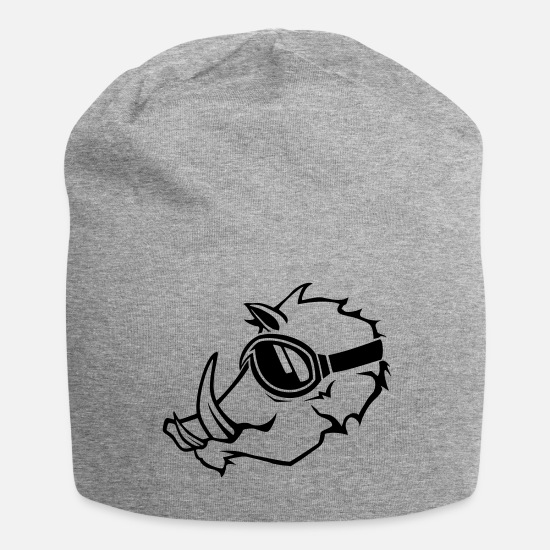 Pistesauu II Caps & Hats - PISTENSAU II - Beanie heather grey
