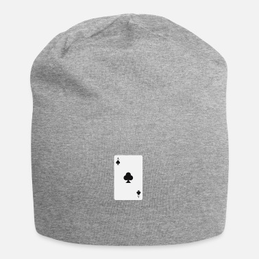 Cards poker card - Jersey-beanie