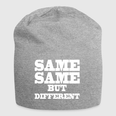 Same Same But Different - Beanie in jersey