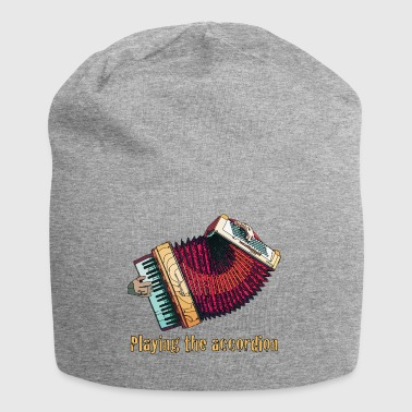 Accordion - Jersey Beanie