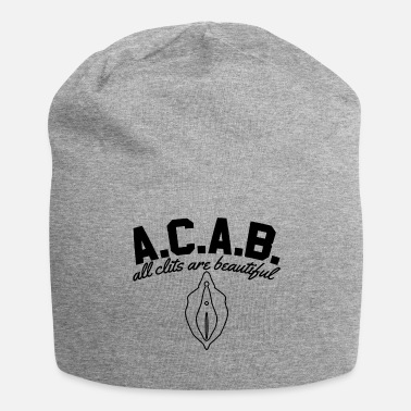 Acab A.C.A.B. - All Clits Are Beautiful - Jersey-Beanie