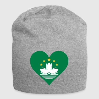 A Heart For Macau - Jersey Beanie