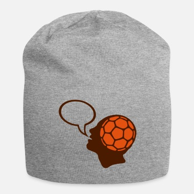 Figure Of Speech bubble handball head head figure face - Jersey Beanie
