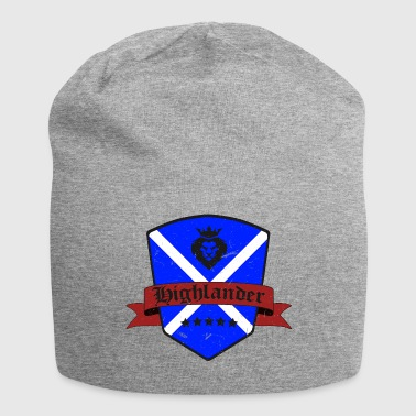 Highland Scottish Highland shirt Design Highlander flag - Jersey Beanie