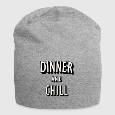 Dinner and Chill - Jersey Beanie