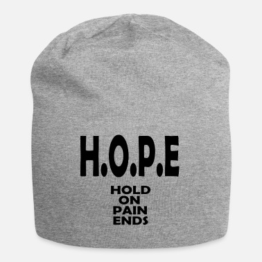 Hope hope hold on - Jersey Beanie