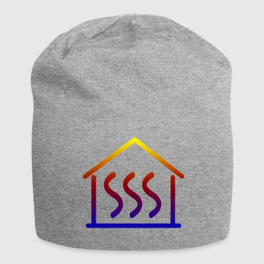 Heat Heating house - Jersey Beanie
