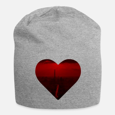 Heart city heart - Beanie in jersey