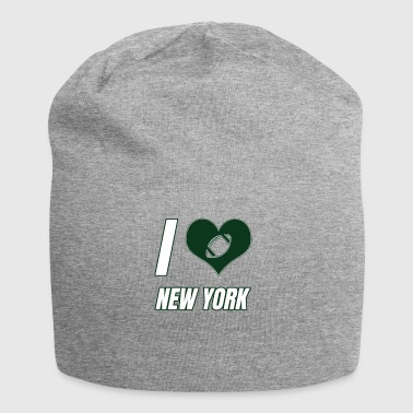 I love New York - Beanie in jersey