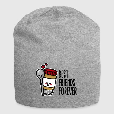 Best friends forever peanut butter / spoon BFF - Jersey Beanie