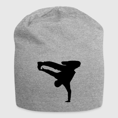 Breakdance Breakdancer silhouette - Jersey Beanie