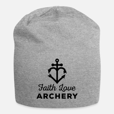 Bogenschießen Faith Love Archery (Bogenschiessen by BOWTIQUE) - Jersey-Beanie