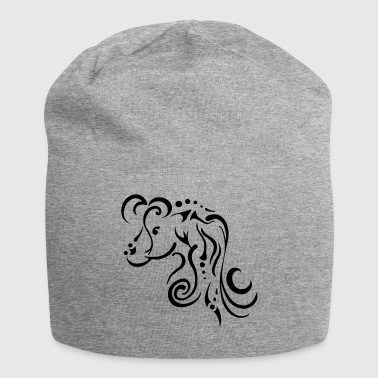 Mare Mare, clean tribal design - Jersey Beanie