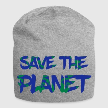 Save the Planet - Save the Earth - Jersey Beanie