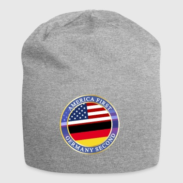 AMERICA FIRST GERMANY SECOND - Jersey-Beanie