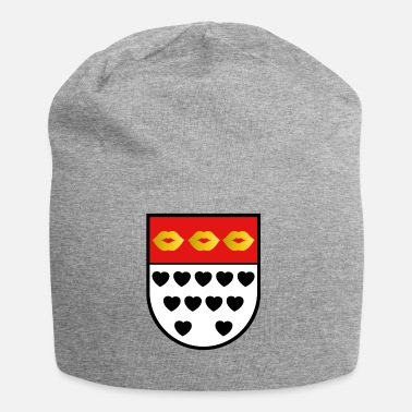 Family Crest Kölsches crest for lovers colorful - Jersey Beanie