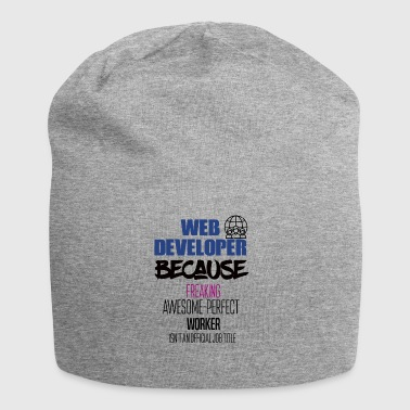 Web developer - Jersey-Beanie