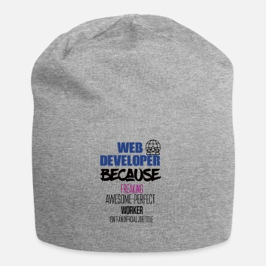 Web Web developer - Jersey-Beanie