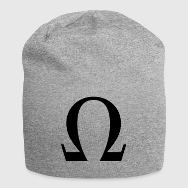 omega - Beanie in jersey