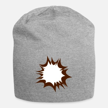 Explosion Comic Speech Bubble Explosion - Jersey-Beanie
