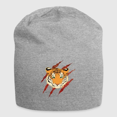Wild animal tiger danger - Jersey Beanie