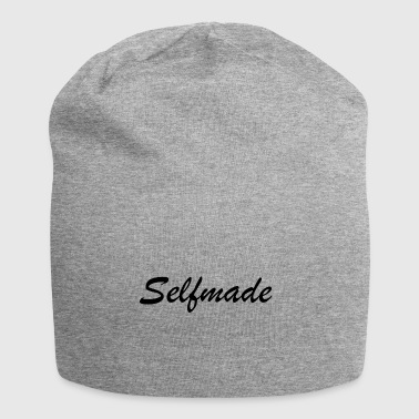 self made - Beanie in jersey
