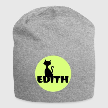 Edith Name First name - Jersey Beanie