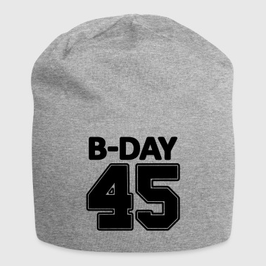 Number 45th Birthday / Numbers Number Number Number 45 - Jersey Beanie