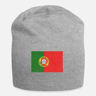 Portuguese Portugal Flag Motif Design Gift Idea Cool - Jersey Beanie