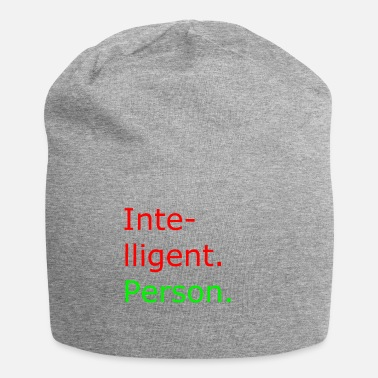 Persoon intelligent persoon - Jersey-Beanie
