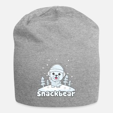 Snack Snack bear / snack bear in the snow - Beanie