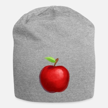Apple cartoon stijl - cadeau-idee - Jersey-Beanie