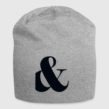 and, plus, punctuation, - Jersey Beanie