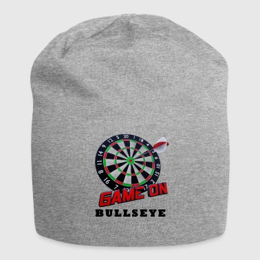 Darts Bullseye Game on - Jersey Beanie