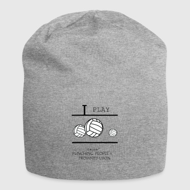 Volleyball, beach volleyball, volleyball girls - Jersey Beanie