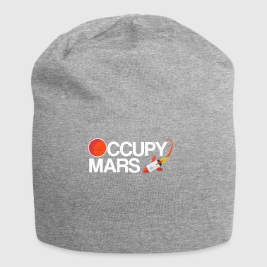 Occupy Mars Planet Space - Jersey Beanie