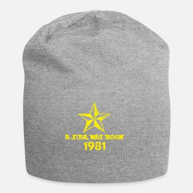 Galaxey Star Was Born 1981, vintage, birthday present - Beanie