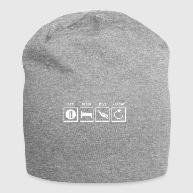 Diving diving. - Jersey Beanie