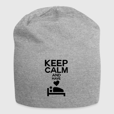 Keep calm and have sex bedroom - Jersey Beanie