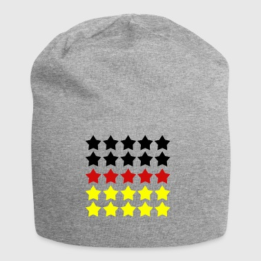 Five Stars Review German Flag - Jersey Beanie