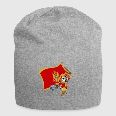 Montenegro fan dog - Jersey Beanie