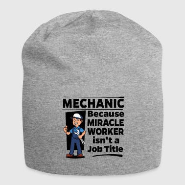 Worker Proud Mechanic - Miracle Worker - Jersey-Beanie