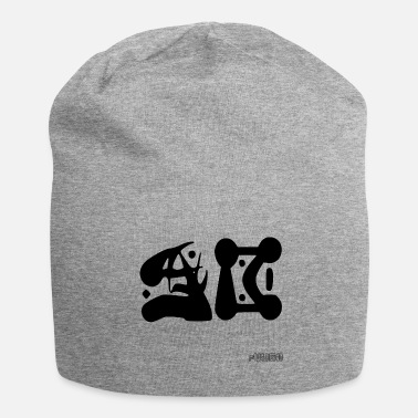 Initial Initials - Jersey Beanie