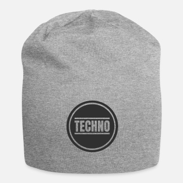 Detroit Techno Circle Techno Merchandise Rave After Hour - Jersey-Beanie