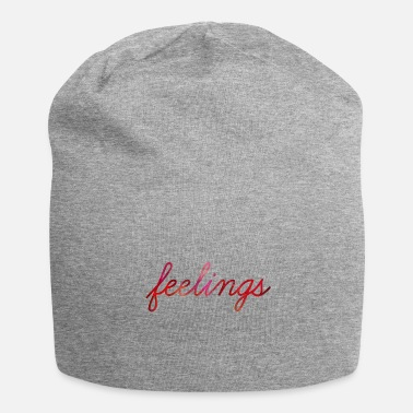 Feeling feelings - Jersey Beanie