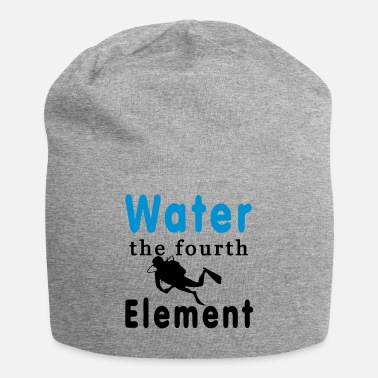 Element Water the fourth Element - Jersey-Beanie