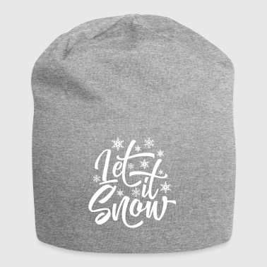 Let ist Schnee / Let it Snow - Jersey-Beanie