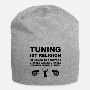 Tuning Tuning is religie - Jersey-Beanie