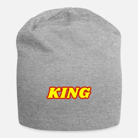 Slave Caps & Hats - king king - Beanie heather grey