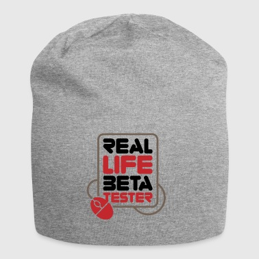Real Life beta tester! - Beanie in jersey